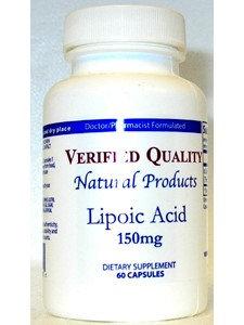 Alpha Lipoic Acid 150 mg 60 caps by Verified Quality