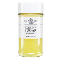 India Tree Sugar, Yellow Pastel, 3.5-Ounce (Pack of 3)