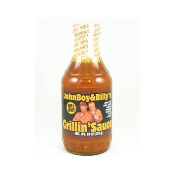 John Boy And Billy's Johnboy and Billy's Hot & Spicy Grillin' Sauce