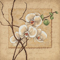Dimensions Counted Cross Stitch Kit, Oriental Orchids