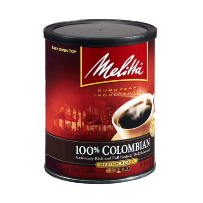 Melitta European Indulgence 100% Colombian Medium Roast Coffee
