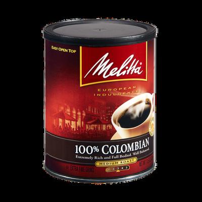 Melitta European Indulgence 100% Colombian Medium Roast Coffee
