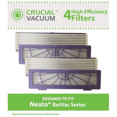 4 Neato BotVac 70e, 75, 80 & 85 Series Filters, Part # 945-0123