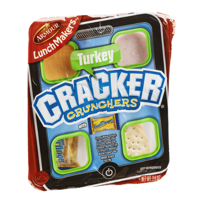 Armour Lunch Makers Cracker Crunchers With Crunch Turkey