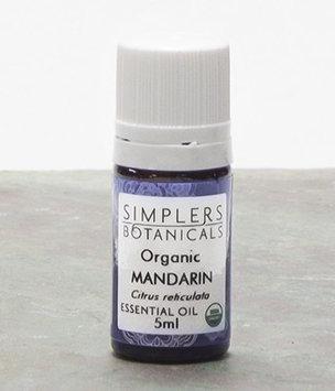 Essential Oil Mandarin Red Organic Simplers Botanicals 5 ml Liquid