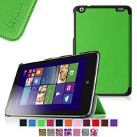 Fintie Lenovo IdeaTab Miix 2 8 Smart Shell Case - Ultra Slim Cover for Lenovo Miix 2 8 Inch Tablet Windows 8.1, Green