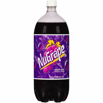 Big Red NuGrape Grape Soda