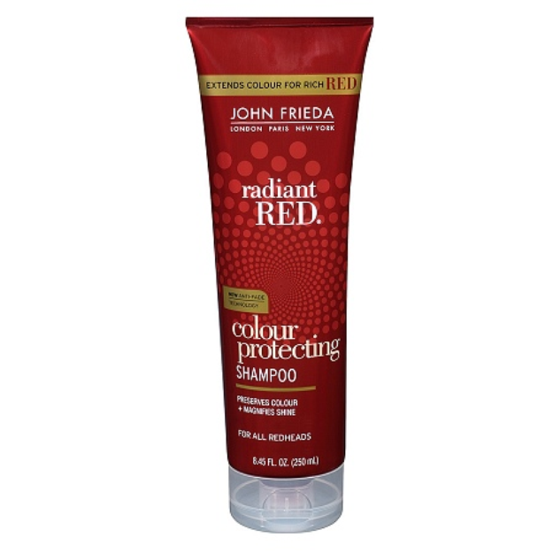 John Frieda Radiant Red Color Captivating Daily Shampoo with Light Enhancers