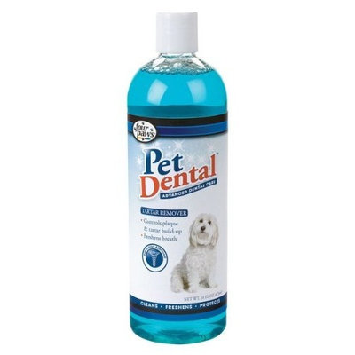 Four Paws Pet Dental Liquid Tartar Remover Liquid 16 Fl OZ