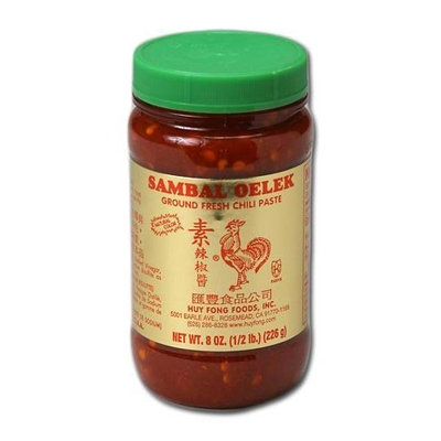 Golden Country Sambal Chili, 8-Ounce Units (Pack of 24)