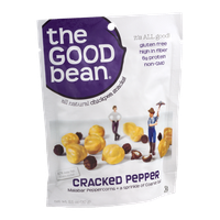 The Good Bean All Natural Chickpea Snacks! Cracked Pepper