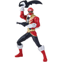Bandai America Power Rangers Super Megaforce Double Battle Action Red Ranger, Red Glow in the Dark