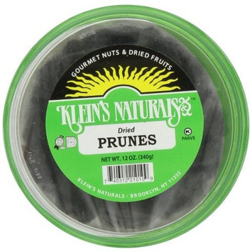 Unknown Klein's Naturals Dried Prunes, (Pack of 6)