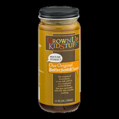 GrownUp KidStuff Original Butterscotch Sauce