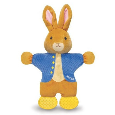 Kids Preferred Peter Rabbit Teether Toy, The World of Beatrix Potter (Discontinued by Manufacturer)