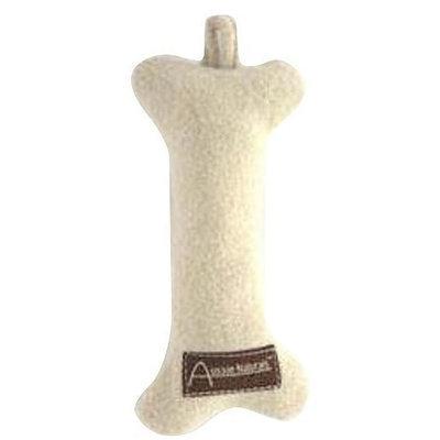 ABO Gear Wool Large Dog Toy, Bone