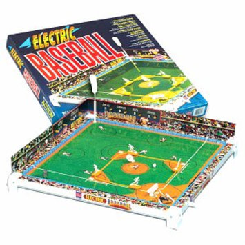 Tudor Games Tru-Action Electric Baseball Game Ages 8+, 1 ea
