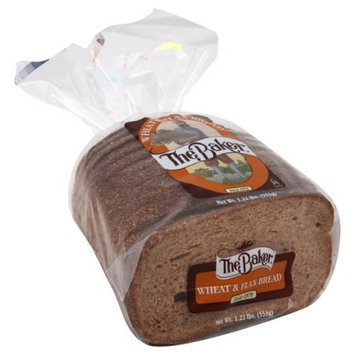 The Baker Wheat & Flax Bread 20 Oz