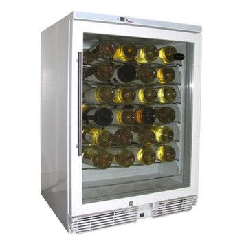 Vinotemp VT-WC58GNV-W10 58 Bottle Wine Cooler - White