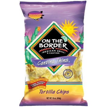 On The Border Mexican Grill & Cantina Thins Tortilla Chips, 16 oz