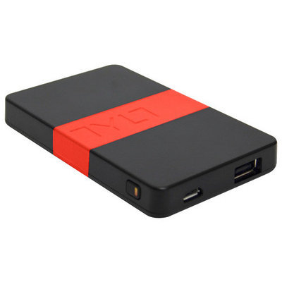 TYLT - ENERGI 2K Portable Battery Pack - Black/Red