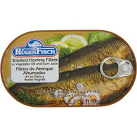 Smoked Herring Fillets Rugenfisch Filets de Hareng Fumes 6.7 oz