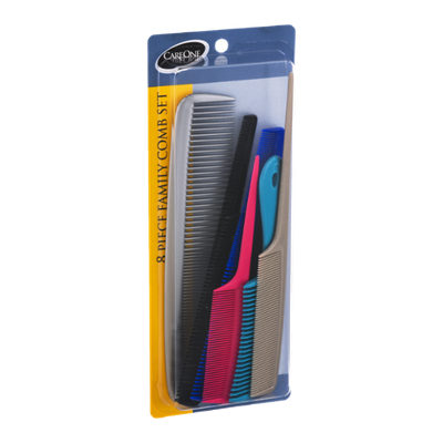 CareOne Family Comb Set - 8 CT