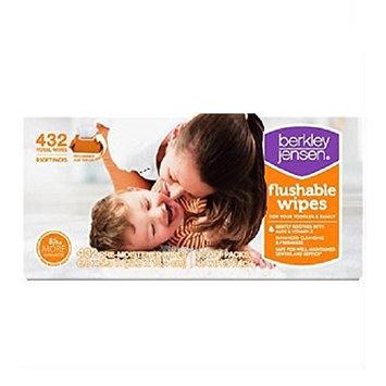 Berkley Jensen Family & Toddler Moist Flushable Wipes, 432 Count