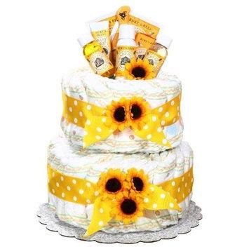 Alder Creek Gifts Burt's Bees Diaper Cake