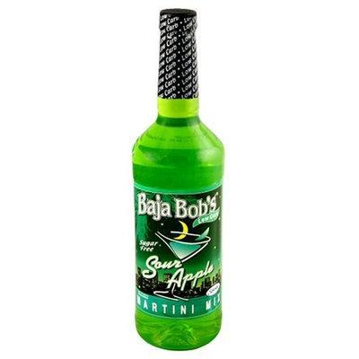 Baja Bob's Sugar Free Martini Mix, Sour Apple, 32-Ounce Bottles (Pack of 3)