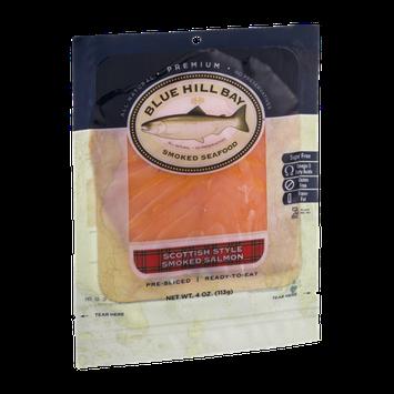 Blue Hill Bay Smoked Seafood Scottish Style Smoked Salmon