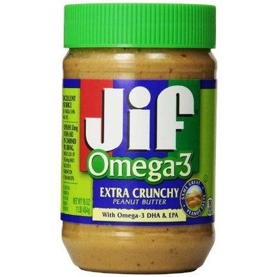 Jif Omega-3 Crunchy Peanut Butter