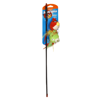 Hartz Angry Birds Wand Cat Toy