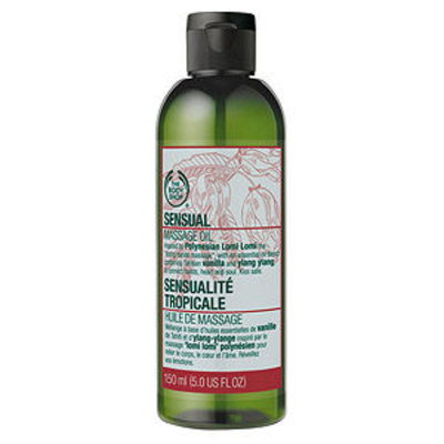 The Body Shop Sensual Massage Oil