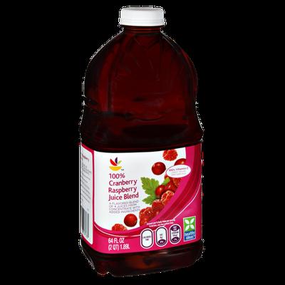 Ahold Cranberry Raspberry 100% Juice Blend