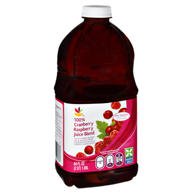 Ahold Cranberry Raspberry 100% Juice Blend