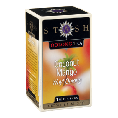 Stash Oolong Tea Bags Coconut Mango - 18 CT