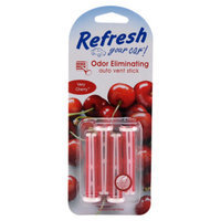Refresh Your Car Very Cherry Auto Vent Sticks - 4 Pack