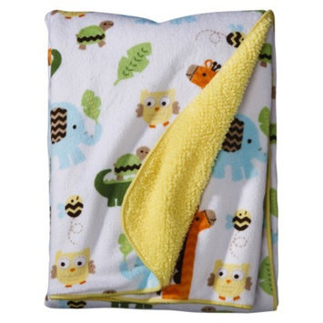 Soft Valboa Baby Blanket - Jungle Stack by Circo
