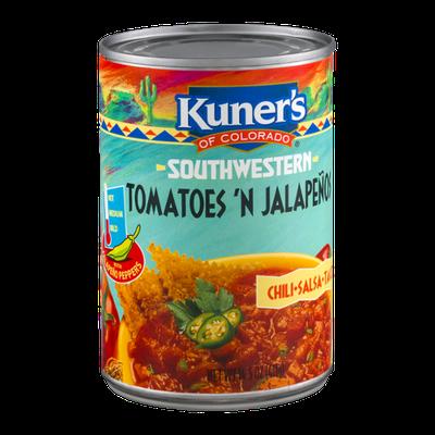 Kuner's Southwestern Tomatoes 'N Jalapenos