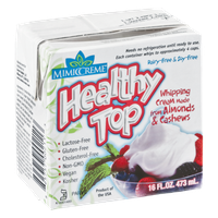 MemicCreme Healthy Top Whipping Cream