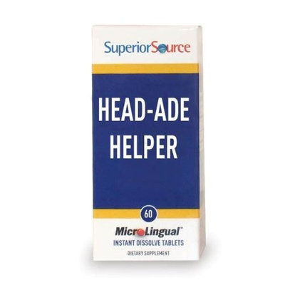 Lexor Health Superior Source Head-Ade Helper (60 tablets)