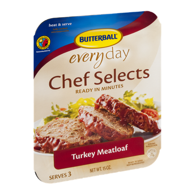 Butterball Everyday Chef Selects Turkey Meatloaf