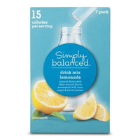 Simply Balanced Lemonade Drink Mix Packets 7 ct