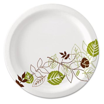 Dixie Ultra Pathways Heavyweight Paper Plates, 10 1/4, 125/Pack
