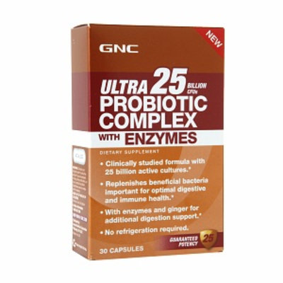 GNC Ultra 25 Probiotic with Enzymes
