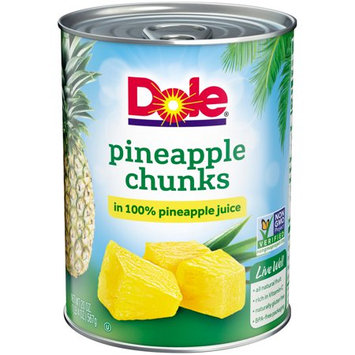 DOLE® Pineapple Chunks in 100% Pineapple Juice
