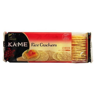 Kame Ka'Me Rice Wafer Cheese 3.5 oz. (Pack of 12)