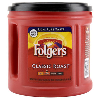 Folgers Classic Ground Coffee - 33.9 oz