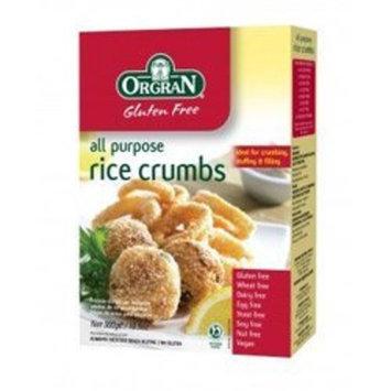 Orgran All Purpose Rice Crumbs Gluten Free -- 10.5 oz